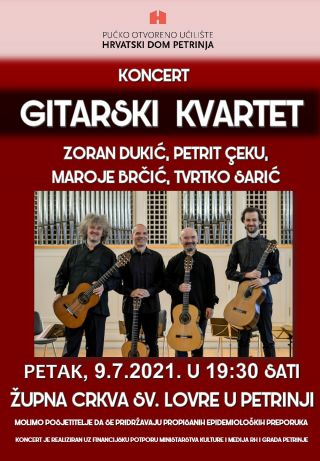 Koncert: GITARSKI KVARTET