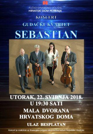 Koncert: Gudački kvartet Sebastian