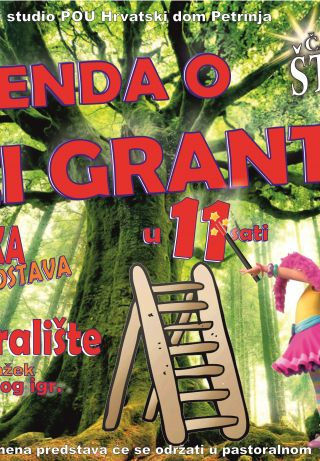 """Predstava """"Legenda o vili Grantili"""""""