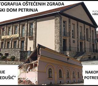 Izložba fotografija Hrvatskog doma i galerije nakon potresa