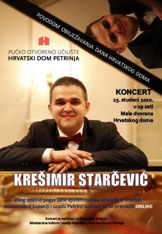 Koncert pijanista Krešimira Starčevića