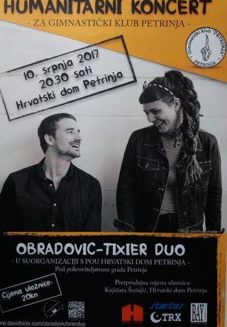 "Humanitarni koncert ""Obradović-Tixier Duo"""