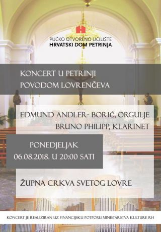 Koncert u Petrinji povodom Lovrenčeva