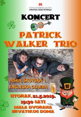 Koncert Patrick Walker Trio
