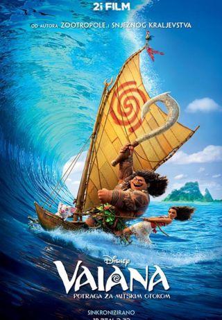 Vaiana - potraga za mitskim otokom, 3D, sinkronizirano