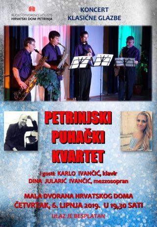 Petrinjski puhački kvartet i gosti
